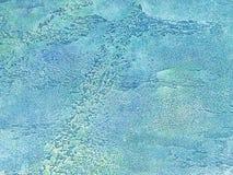 Vecchia parete multicolore coperta di gesso misero della sbucciatura Struttura della superficie d'annata della pietra del turches Fotografie Stock