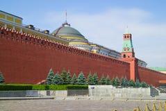 Vecchia parete nel giorno di estate, Russia di Cremlino di Mosca Fotografia Stock Libera da Diritti