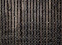 Vecchia parete nera Fondo di legno della parete di struttura di lerciume immagine stock
