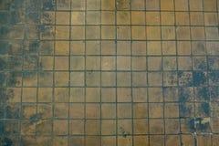 vecchia parete sporca delle mattonelle immagine stock
