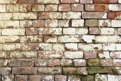 Vecchia parete stessa del brik per fondo immagine stock libera da diritti