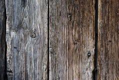 Vecchia parete strutturale di legno Immagine Stock