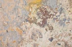 Vecchia parete variopinta Immagini Stock