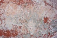 Vecchia parete verniciata Fotografia Stock Libera da Diritti