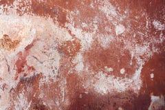 Vecchia parete verniciata Fotografie Stock