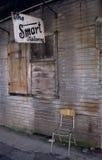 Vecchia parte anteriore del negozio Immagine Stock Libera da Diritti