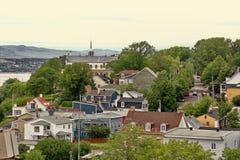Vecchia parte della città di Levis Immagine Stock Libera da Diritti
