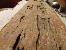 Vecchia parte di legno immagine stock libera da diritti