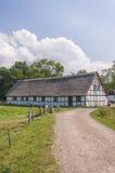 Vecchia parte posteriore del granaio di Esrum Kloster fotografie stock