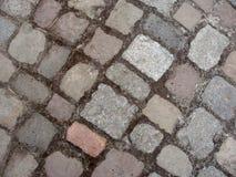 Vecchia pavimentazione 1 Fotografia Stock