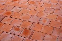 Vecchia pavimentazione Fotografia Stock Libera da Diritti