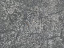 Vecchia pavimentazione in calcestruzzo Immagine Stock