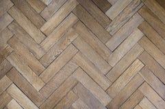 Vecchia pavimentazione leggera della quercia Immagine Stock