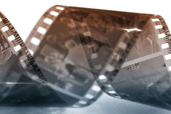 Vecchia pellicola immagine stock