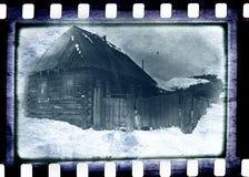 Vecchia pellicola della foto Fotografie Stock