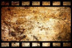 Vecchia pellicola di Grunge Immagini Stock