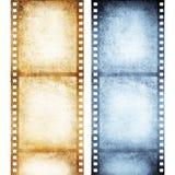 Vecchia pellicola negativa Fotografie Stock Libere da Diritti