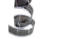 Vecchia pellicola negativa fotografia stock