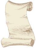 Vecchia pergamena Fotografia Stock Libera da Diritti