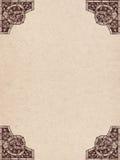 Vecchia pergamena Fotografia Stock
