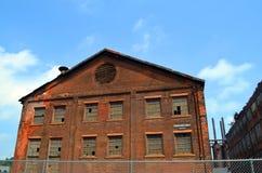 Vecchia pianta di Bethlehem Steel Fotografia Stock