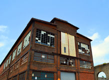 Vecchia pianta di Bethlehem Steel in Allentown Immagine Stock Libera da Diritti