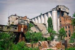 Vecchia pianta di fresatura Rostov-On-Don, Russia Immagine Stock Libera da Diritti