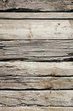 Vecchia piattaforma di legno Immagini Stock
