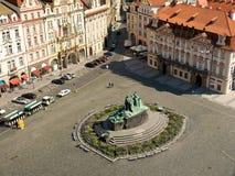 Vecchia piazza Immagine Stock