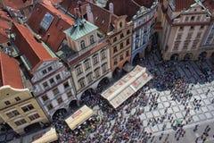 Vecchia piazza Fotografia Stock Libera da Diritti