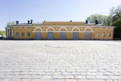 Vecchia piazza in città storica di Turku Immagine Stock Libera da Diritti