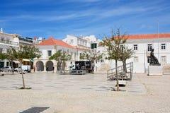 Vecchia piazza, Lagos, Portogallo Fotografia Stock