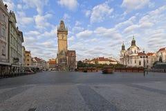 Vecchia piazza a Praga fotografia stock libera da diritti