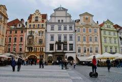 Vecchia piazza Praga Fotografia Stock