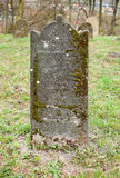 Vecchia pietra tombale Immagine Stock