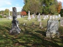 Vecchia pietra tombale Immagini Stock
