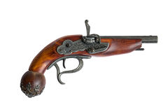 Vecchia pistola Fotografie Stock