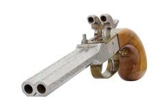 Vecchia pistola Fotografia Stock Libera da Diritti