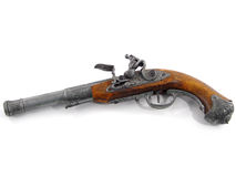 Vecchia pistola Fotografia Stock