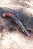 Vecchia pistola Immagini Stock Libere da Diritti