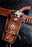 Vecchia pistola del cowboy Fotografia Stock Libera da Diritti