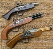 Vecchia pistola del moschetto copia Fotografia Stock Libera da Diritti