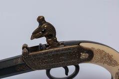 Vecchia pistola del ` s di millefoglie Fotografia Stock Libera da Diritti