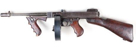 Vecchia pistola di mashine Immagini Stock Libere da Diritti
