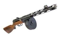 Vecchia pistola di submachine russa Immagine Stock