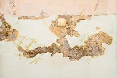 Vecchia pittura incrinata e sbriciolata Fotografia Stock Libera da Diritti