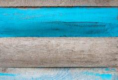 Vecchia plancia del legno duro di colore Fotografia Stock Libera da Diritti