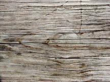 Vecchia plancia del Redwood Fotografia Stock