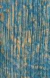 Vecchia plancia di legno dipinta Fotografie Stock