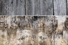 Vecchia plancia di legno, fondo di legno della parete Immagini Stock Libere da Diritti
